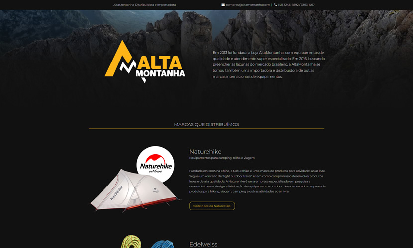 Site responsivo One Page - Koala Media House