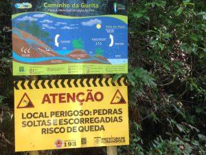 Alerta de Riscos da Cachoeira da Gurita