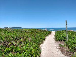 Acesso à Praia pela Servidão das Corujas