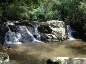 Trilha para a Cachoeira da Gurita