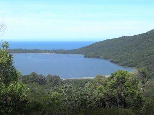 Linda vista da Lagoa no Caminho do Sertão