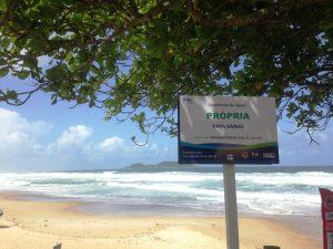 Quais são as praias próprias para banho no Sul de Floripa?