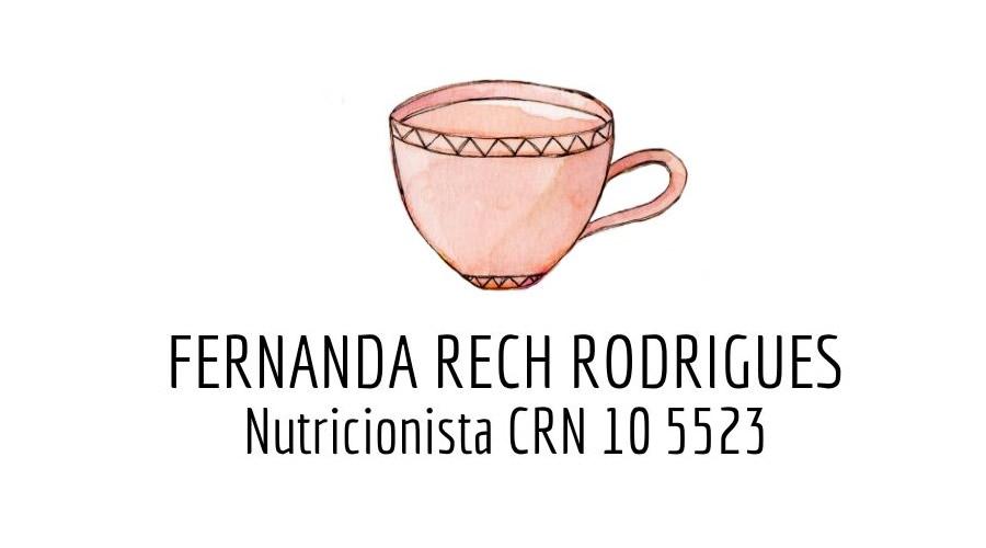 Nutricionista Fernanda Rech Rodrigues