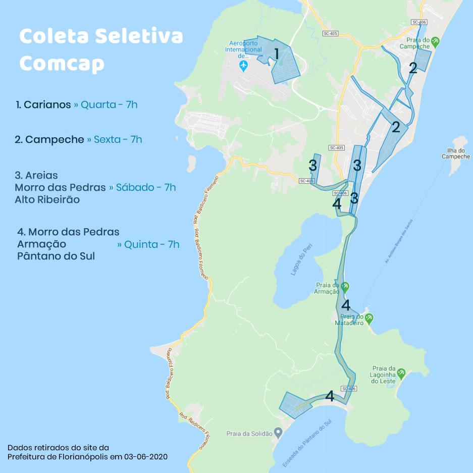 Coleta Seletiva da Comcap no Sul da Ilha - Fase 2 1