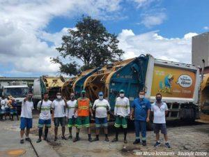 Comcap retoma serviços de coleta e limpeza pública