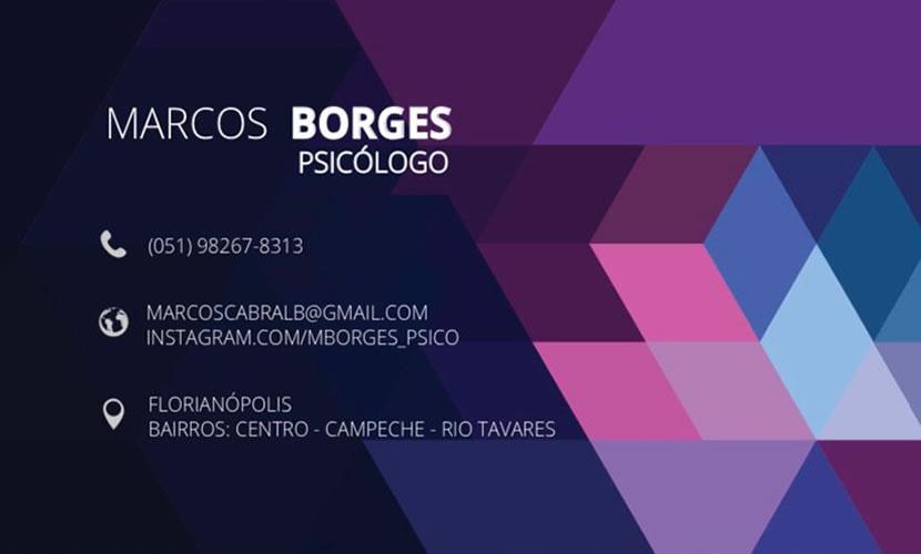 Marcos Borges- psicólogo