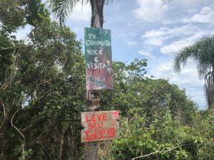 Trilha do Morro do Lampião, no Campeche 14