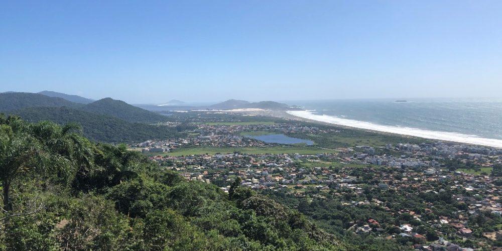 Trilha do Morro do Lampião, no Campeche 1
