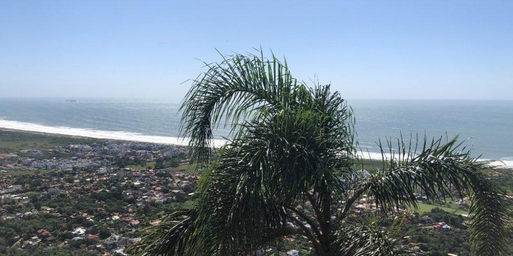 Trilha do Morro do Lampião, no Campeche 2