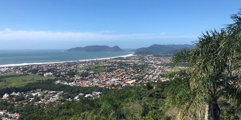 Trilha do Morro do Lampião, no Campeche 3