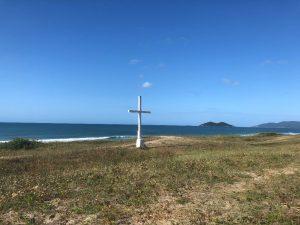 A cruz do Pico da Cruz, no Rio Tavares