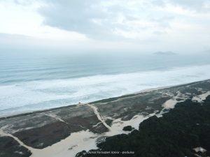 Vista aérea do Parque e da Praia - por Durval Jr.