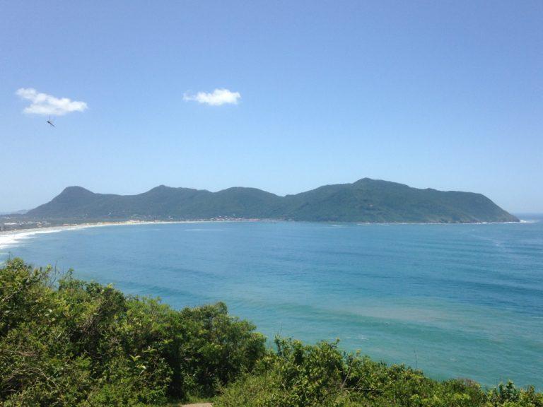 Vista da Baía do Pântano do Sul