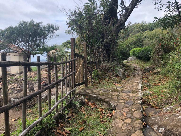 Caminhos dentro da comunidade do Saquinho